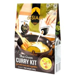 Kit de Curry Verde 180ml - deSIAM - Contiene 180ml de leche de coco