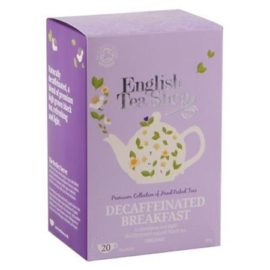 Té Breakfast Descafeinado 40gr - English Tea Shop - Té con los ingredientes más saludables. Acompañante ideal para los desayunos.